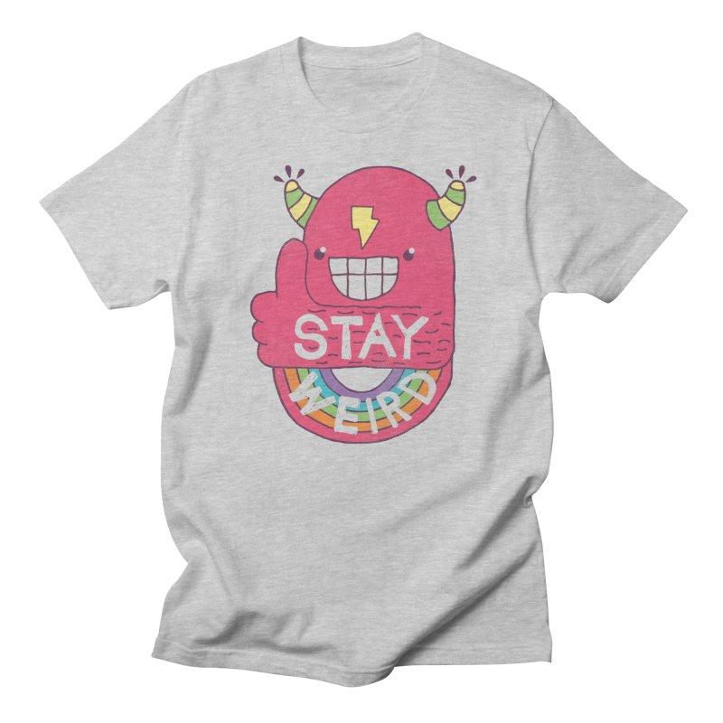 Stay Weird Men's Regular T-Shirt by Beanepod
