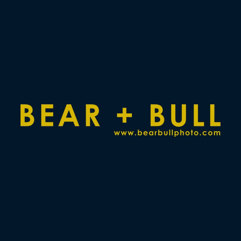 Bear+Bull Logo in Yellow  by BEAR+BULL PHOTOGRAPHY