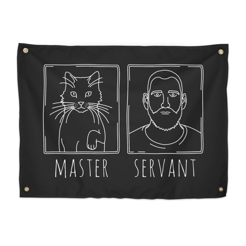 Master & Servant in Tapestry by Beards and Cats Store