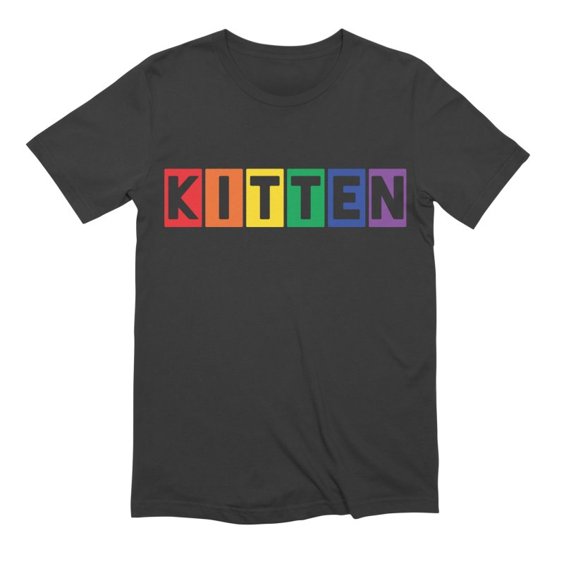 Proud Kitten Men's Extra Soft T-Shirt by Beards and Cats Store