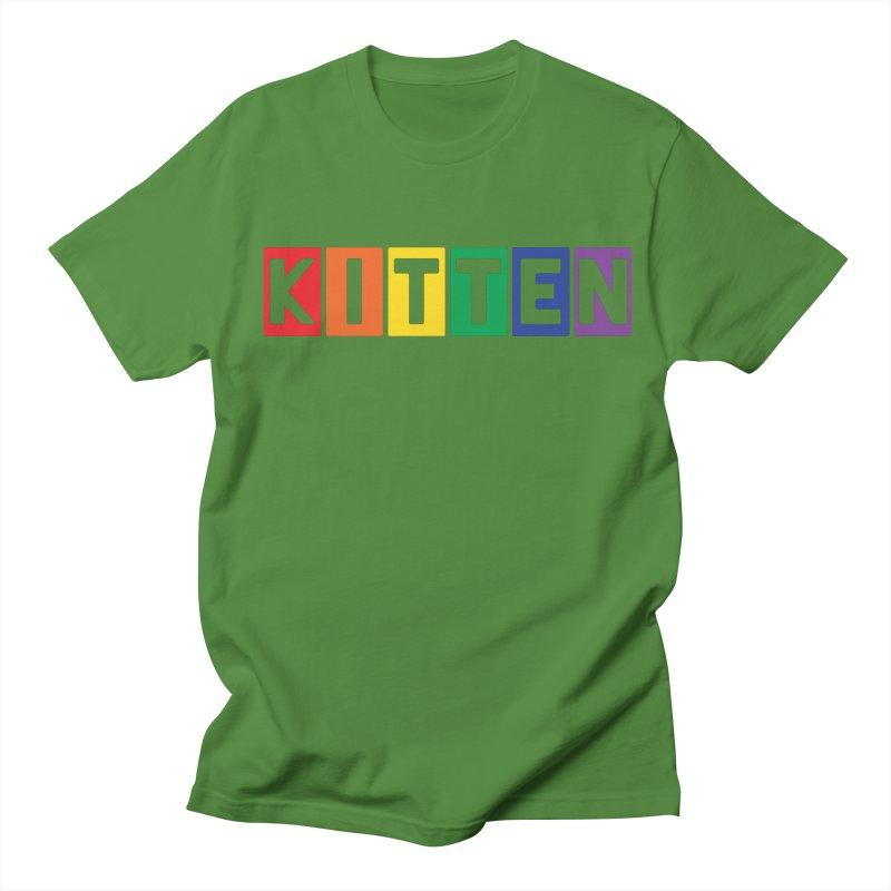 Proud Kitten Women's Regular Unisex T-Shirt by Beards and Cats Store