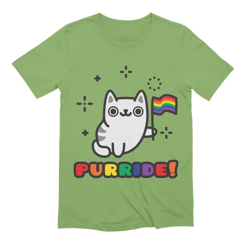 Purride! Men's Extra Soft T-Shirt by Beards and Cats Store