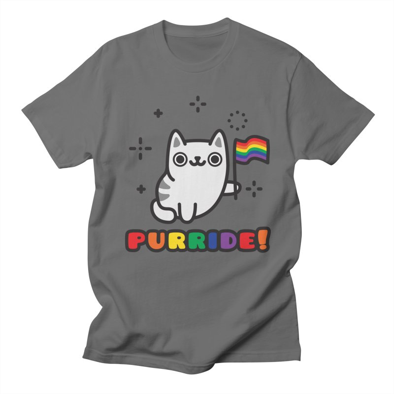 Purride! Men's T-Shirt by Beards and Cats Store