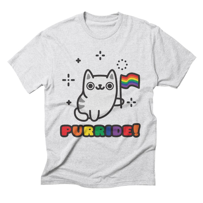 Purride! Men's Triblend T-Shirt by Beards and Cats Store
