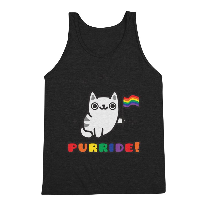 Purride! Men's Triblend Tank by Beards and Cats Store