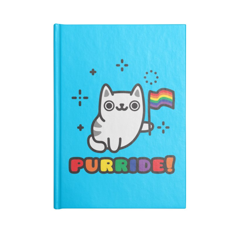 Purride! Accessories Lined Journal Notebook by Beards and Cats Store