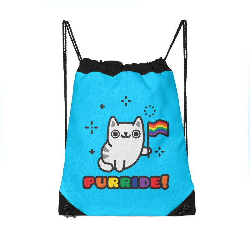 Purride! Accessories Drawstring Bag Bag by Beards and Cats Store
