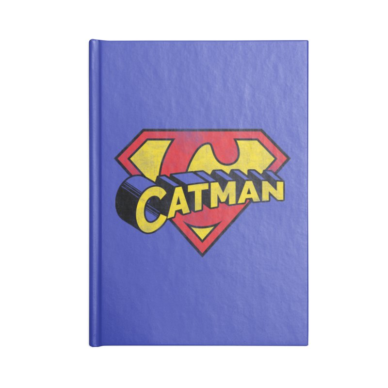 Catman Accessories Lined Journal Notebook by Beards and Cats Store