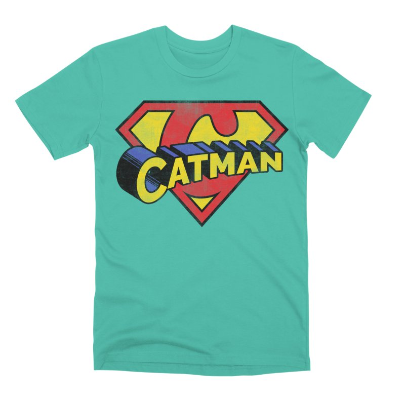 Catman Men's Premium T-Shirt by Beards and Cats Store