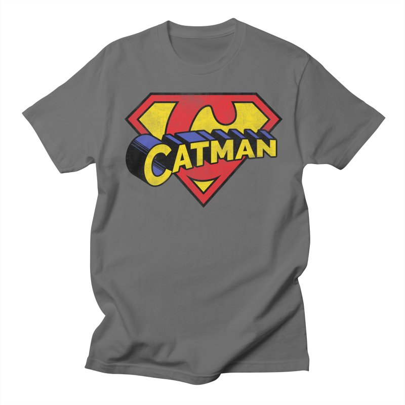 Catman Men's T-Shirt by Beards and Cats Store