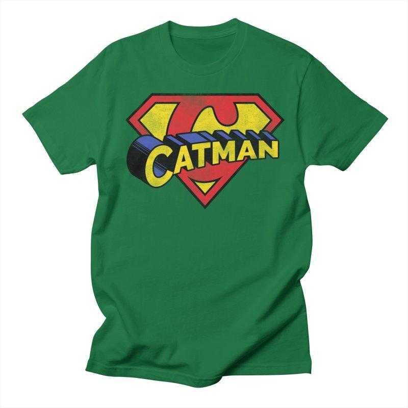 Catman Women's Regular Unisex T-Shirt by Beards and Cats Store