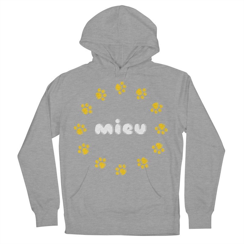 miEU Men's French Terry Pullover Hoody by Beards and Cats Store