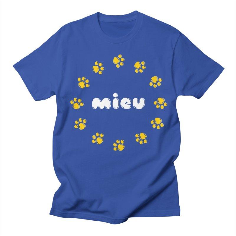 miEU Women's Regular Unisex T-Shirt by Beards and Cats Store