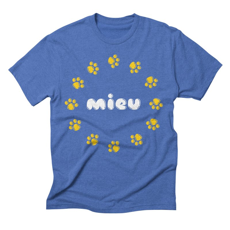 miEU Men's Triblend T-Shirt by Beards and Cats Store