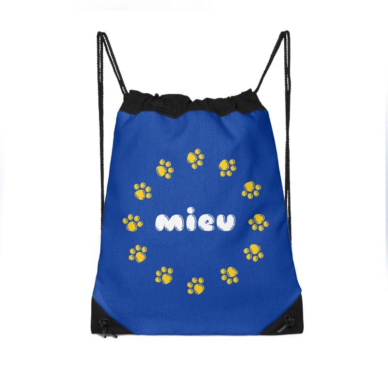 miEU Accessories Drawstring Bag Bag by Beards and Cats Store