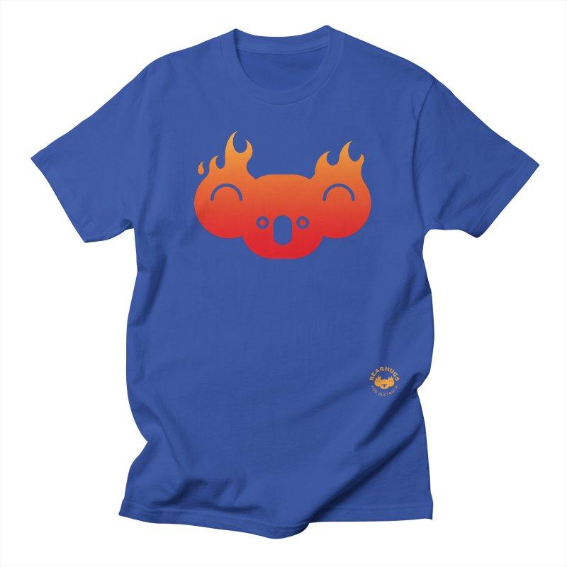 Flamin' Koala Men's T-Shirt by Bearhugs For Australia