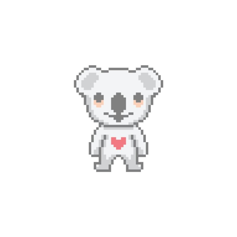 Pixel Koala Kids T-Shirt by Bearhugs For Australia