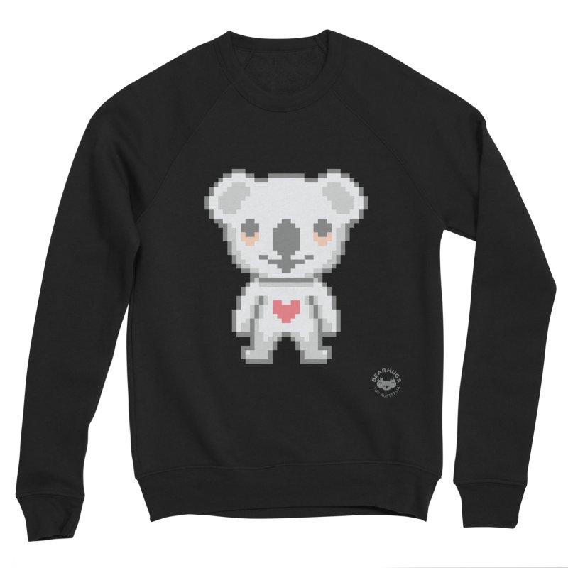 Pixel Koala Women's Sweatshirt by Bearhugs For Australia