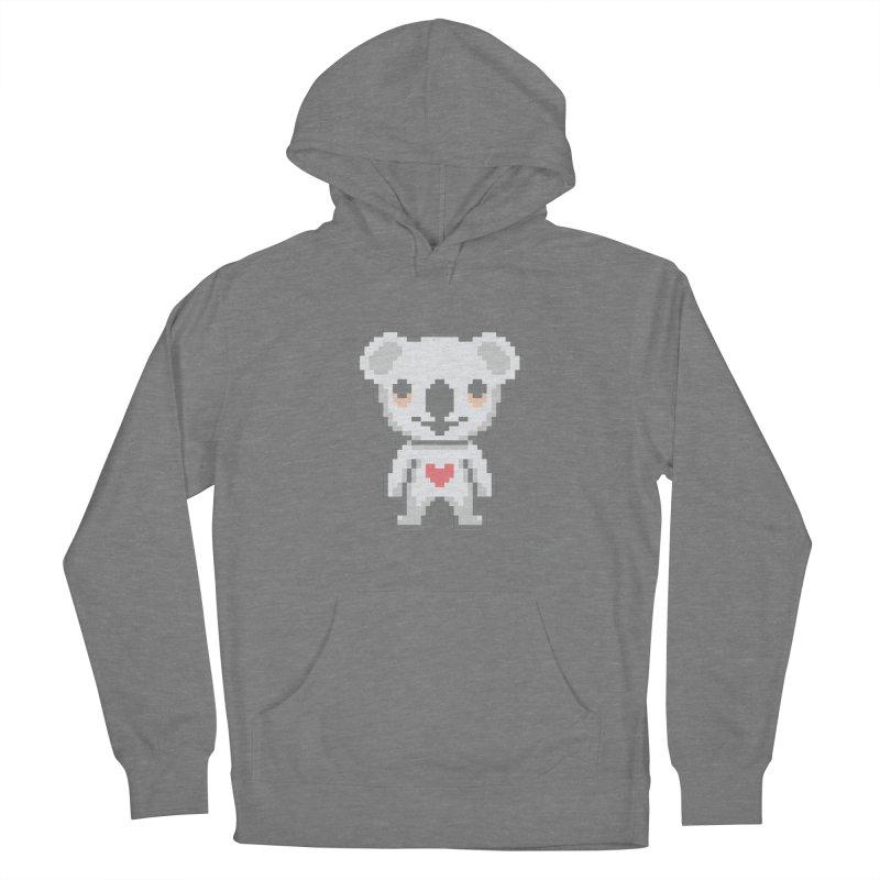 Pixel Koala Women's Pullover Hoody by Bearhugs For Australia