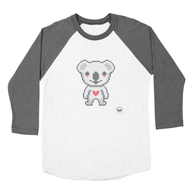 Pixel Koala Women's Longsleeve T-Shirt by Bearhugs For Australia