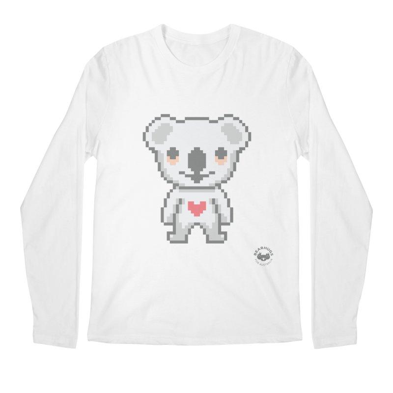 Pixel Koala Men's Longsleeve T-Shirt by Bearhugs For Australia