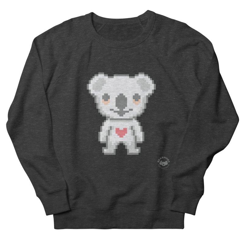 Pixel Koala Men's Sweatshirt by Bearhugs For Australia