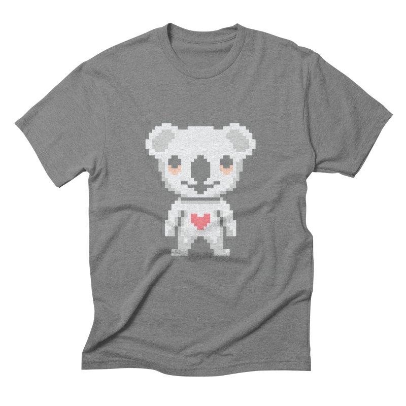 Pixel Koala Men's T-Shirt by Bearhugs For Australia