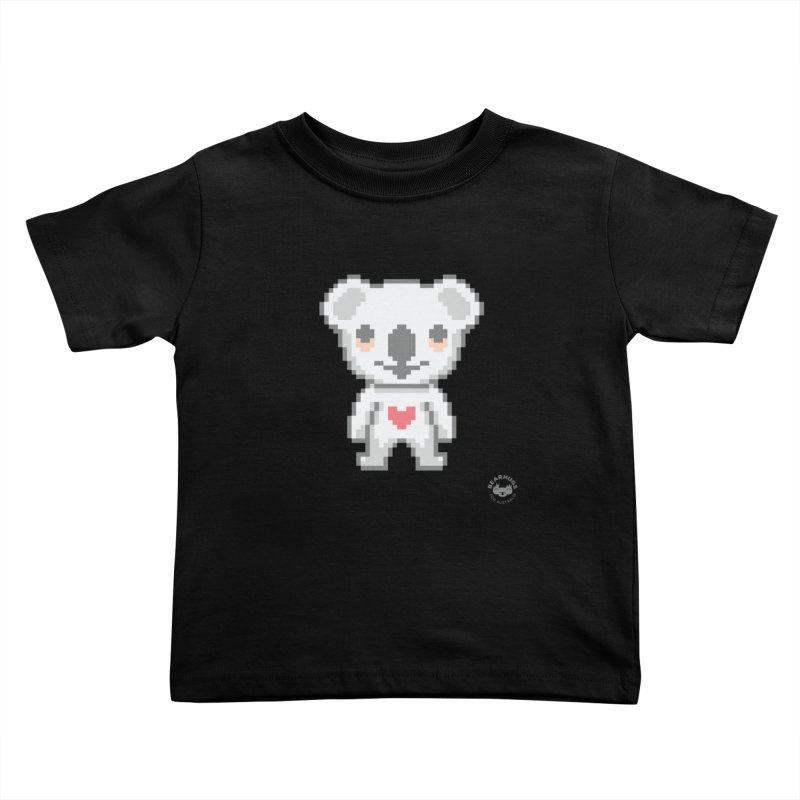 Pixel Koala Kids Toddler T-Shirt by Bearhugs For Australia