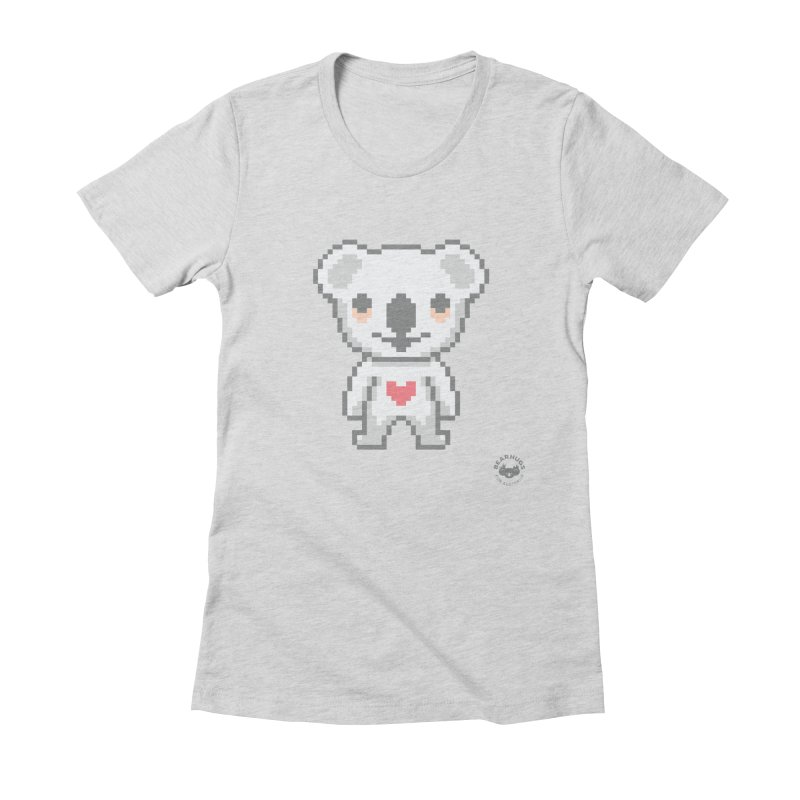 Pixel Koala Women's T-Shirt by Bearhugs For Australia