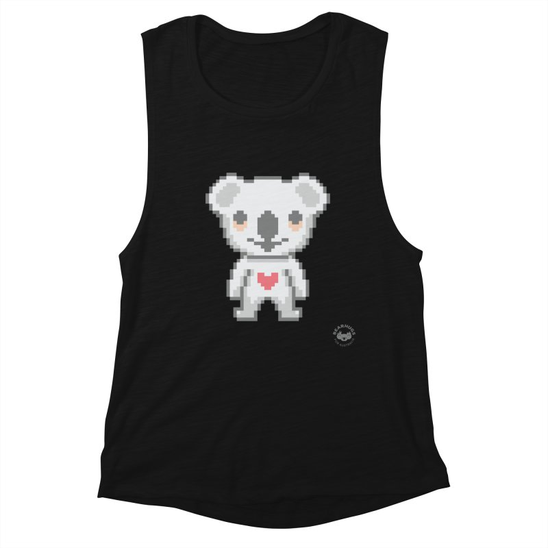 Pixel Koala Women's Tank by Bearhugs For Australia