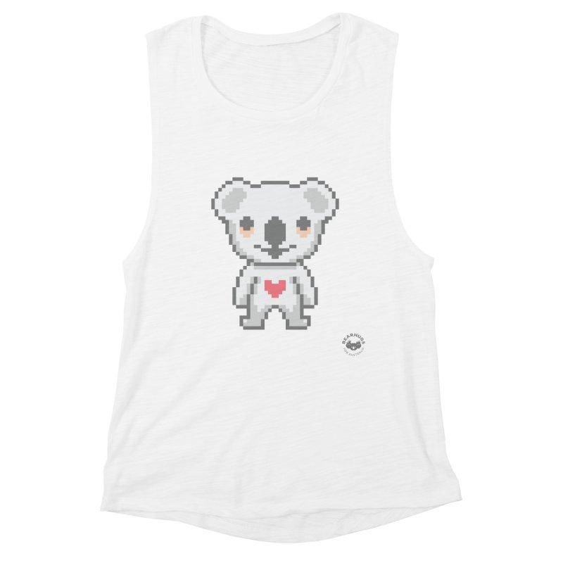 Pixel Koala Women's Tank by Bearhugs For Australia