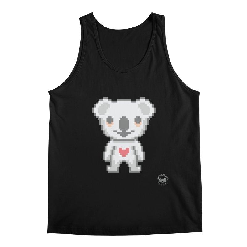 Pixel Koala Men's Tank by Bearhugs For Australia