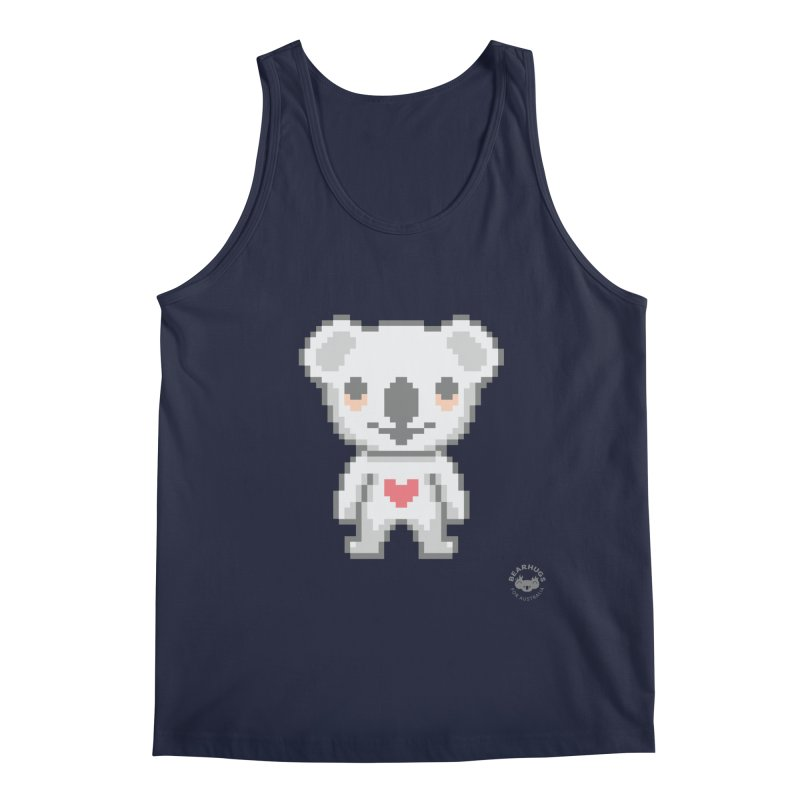 Pixel Koala Men's Tank by Bearhugs For Australia