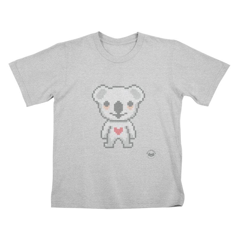 Pixel Koala Kids T-Shirt by Bearhugs For Australia