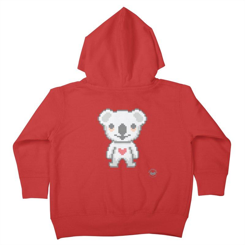 Pixel Koala Kids Toddler Zip-Up Hoody by Bearhugs For Australia