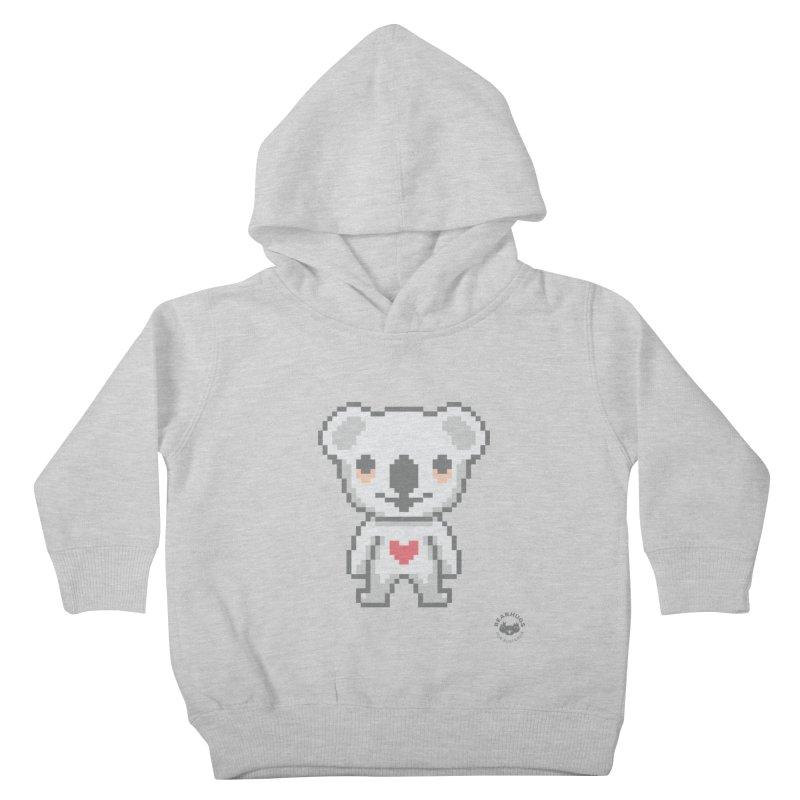 Pixel Koala Kids Toddler Pullover Hoody by Bearhugs For Australia