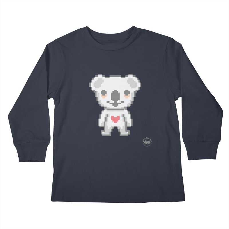 Pixel Koala Kids Longsleeve T-Shirt by Bearhugs For Australia