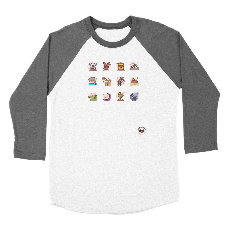 Aussie Icons Women's Longsleeve T-Shirt by Bearhugs For Australia
