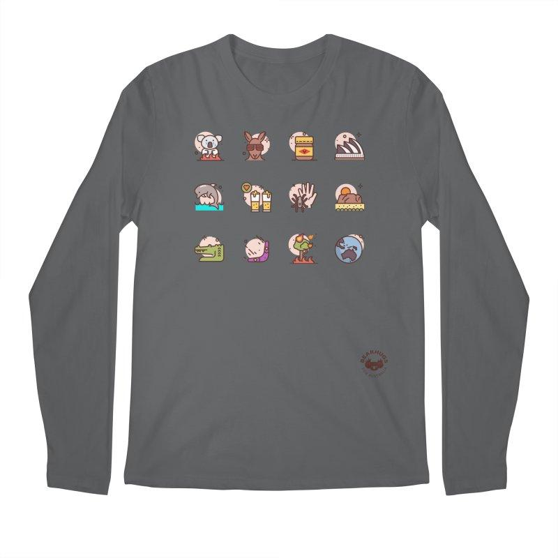 Aussie Icons Men's Longsleeve T-Shirt by Bearhugs For Australia