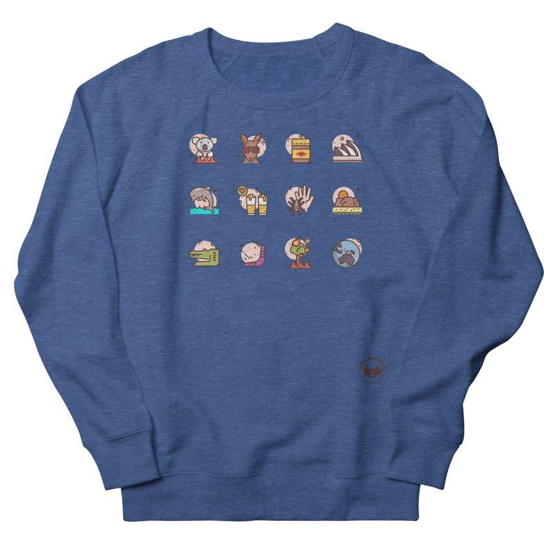 Aussie Icons Men's Sweatshirt by Bearhugs For Australia
