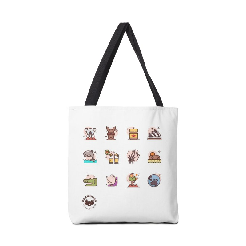 Aussie Icons Accessories Bag by Bearhugs For Australia