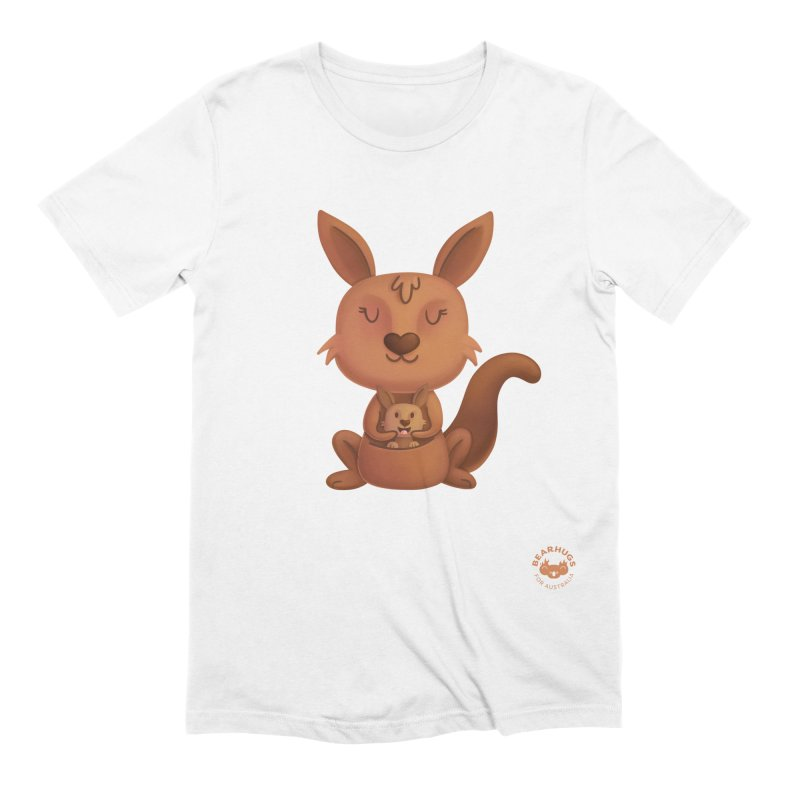 Kangaroo & Joey Men's T-Shirt by Bearhugs For Australia