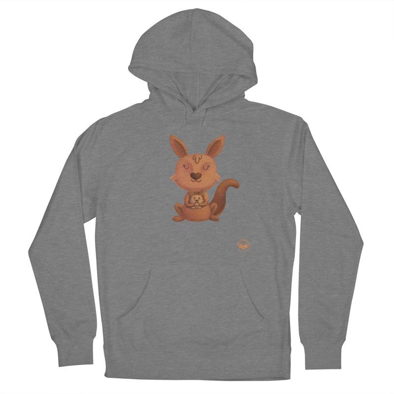 Kangaroo & Joey Women's Pullover Hoody by Bearhugs For Australia