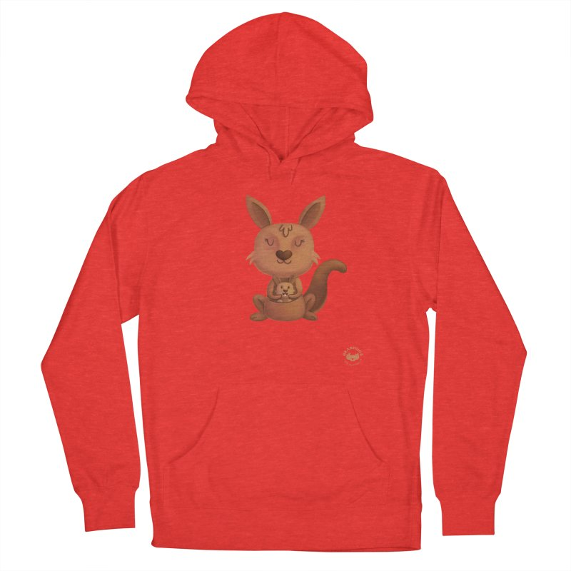 Kangaroo & Joey Men's Pullover Hoody by Bearhugs For Australia