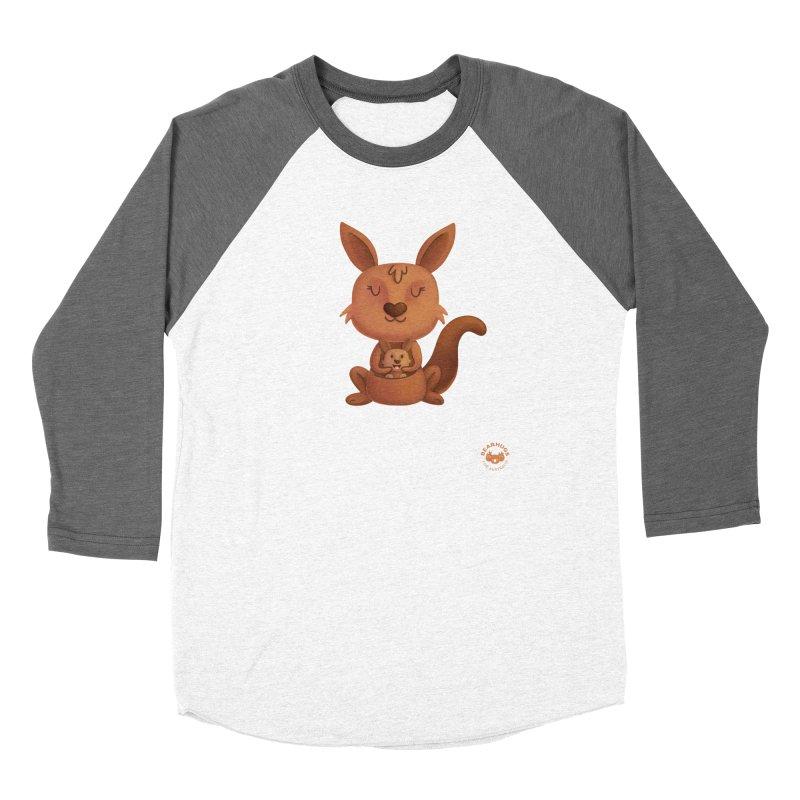 Kangaroo & Joey Women's Longsleeve T-Shirt by Bearhugs For Australia