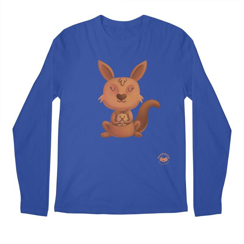 Kangaroo & Joey Men's Longsleeve T-Shirt by Bearhugs For Australia