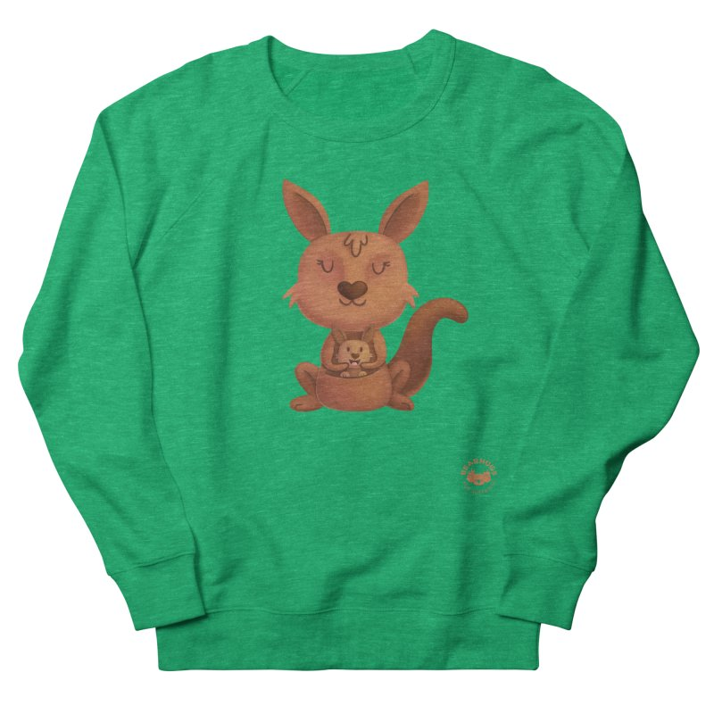 Kangaroo & Joey Women's Sweatshirt by Bearhugs For Australia