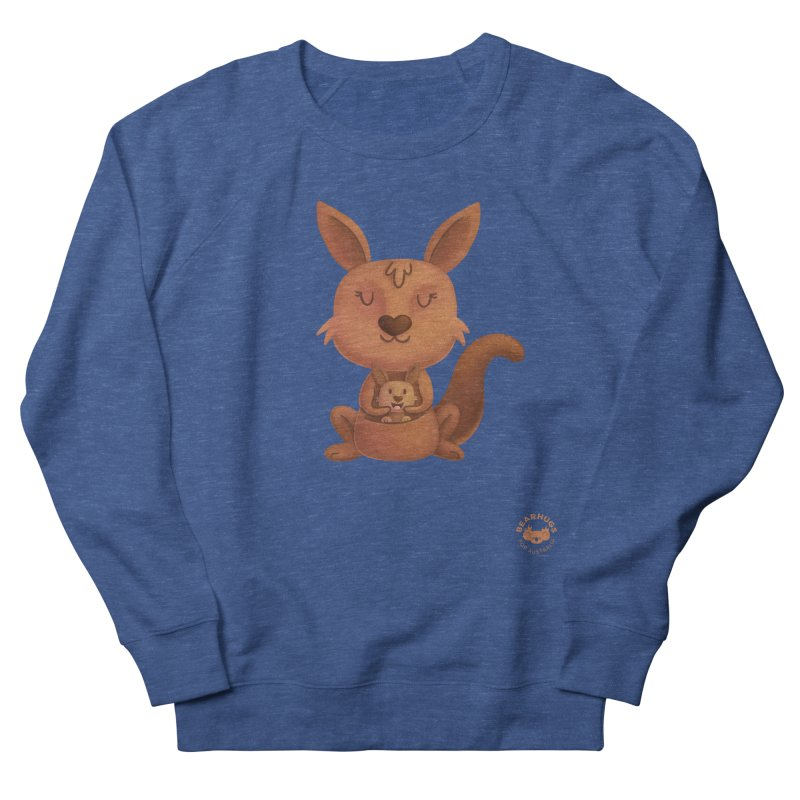 Kangaroo & Joey Men's Sweatshirt by Bearhugs For Australia