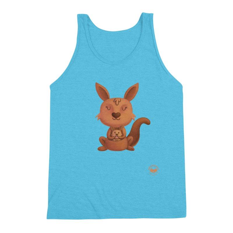 Kangaroo & Joey Men's Tank by Bearhugs For Australia