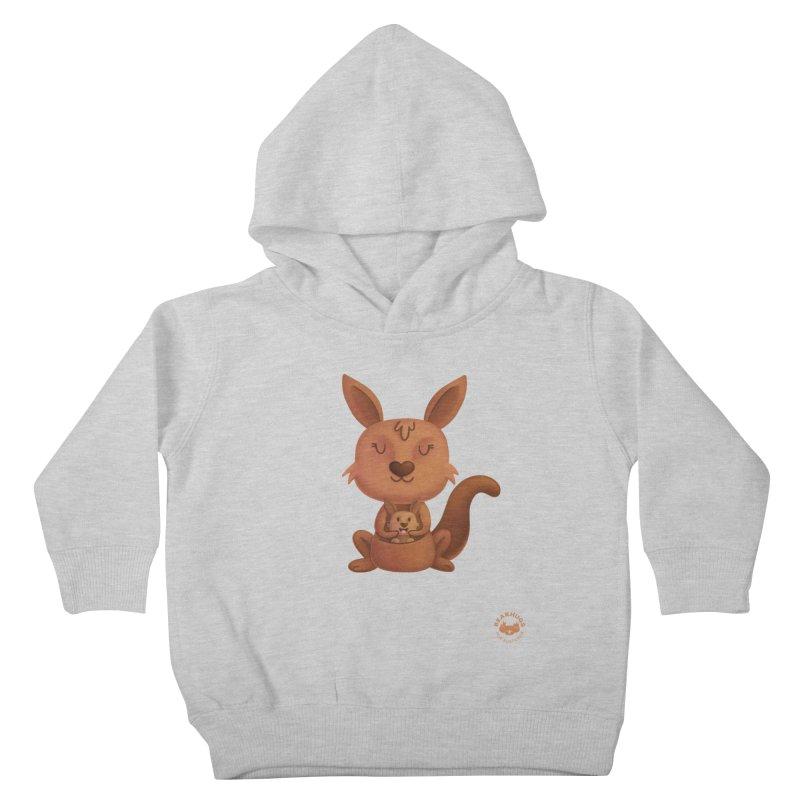 Kangaroo & Joey Kids Toddler Pullover Hoody by Bearhugs For Australia